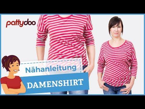 Shirt selber nähen – Anleitung; pattydoo tutorial # 8