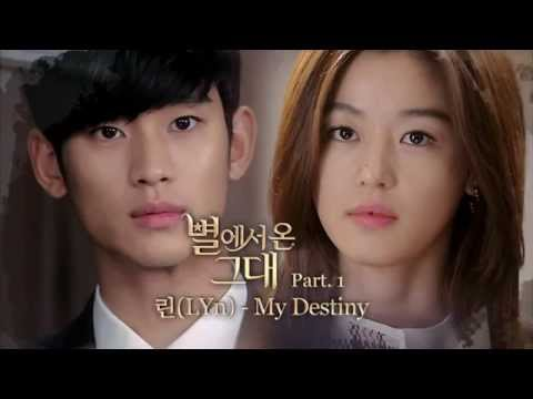 Video Lyn (린) - My destiny (마이 데스티니) Karaoke_You Who Came from the stars OST download in MP3, 3GP, MP4, WEBM, AVI, FLV January 2017