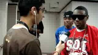 Amit the Intern from 91.7 the Bounce does his first interview with Soulja Boy!!!