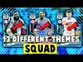 Every Card In This Squad Is A Different Theme  Nba 2k17 Myteam Squad Builder