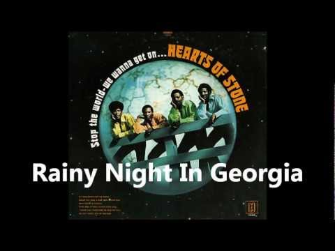 Tekst piosenki Hearts of Stone - Rainy Night In Georgia po polsku