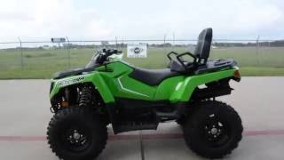4. $8,499:  2017 Arctic Cat Alterra 500 TRV Green Overview and Review