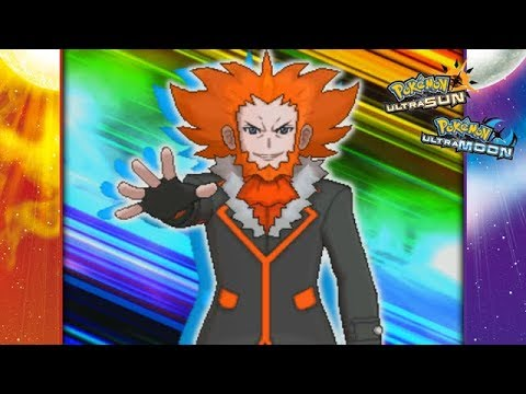 Pokemon Ultra Sun and Ultra Moon - Lysandre Battle! (Team Rainbow Rocket)