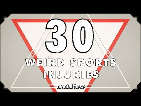 30 Weird Sports Injuries