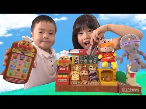 アンパンマン おもちゃ ジャムおじさんのパン工場 DXやきたてパン工場 …