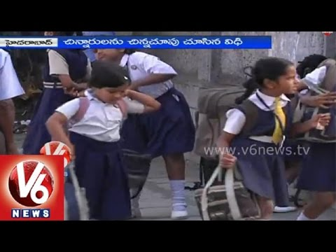 Special Story on school bus accident near Masaipet level crossing at Medak