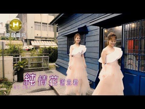 【MV首播】謝宜君-純情花(官方完整版MV) HD【民視八點檔『大時代』片尾曲】