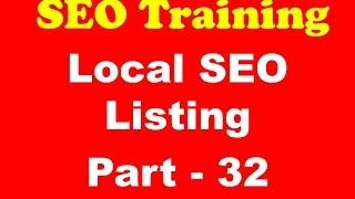 SEO Training - Local SEO Listing Seo, Search Engine Marketing, Search Engine Optimization, Learn Seo, Free Seo Training, Seo Course, Seo Tutorials, Seo Train...