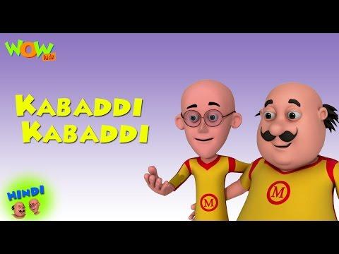 Kabaddi Kabaddi - Motu Patlu in Hindi WITH ENGLISH, SPANISH & FRENCH SUBTITLES