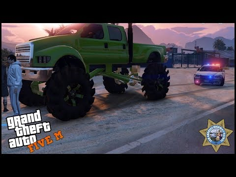 GTA 5 ROLEPLAY - YOUR TRUCK IS LIFTED TO HIGH AND NOT LEGAL!! - EP. 520 - LEO