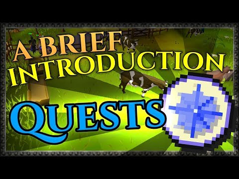 Quests 101 - A Noob's Guide to Old School RuneScape