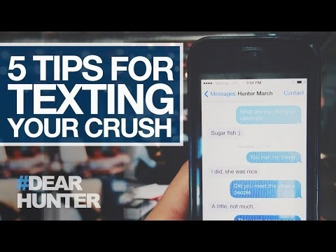 Video 5 TIPS FOR TEXTING YOUR CRUSH | #DearHunter download in MP3, 3GP, MP4, WEBM, AVI, FLV February 2017