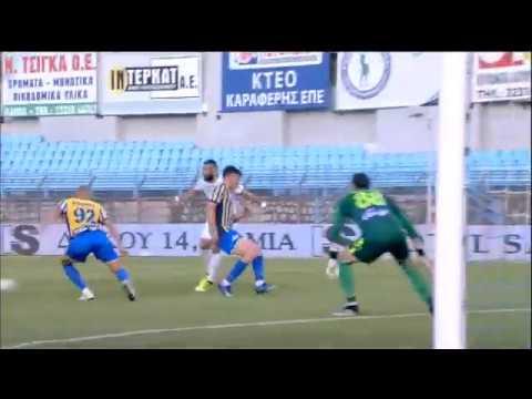 Το 1-0 για τη Λαμία ο Βιγιάλμπα με ασίστ του Αραβίδη! | 08/06/2020 | ΕΡΤ