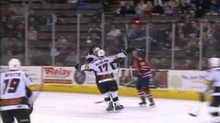 Cyclones vs Stingrays - December 22, 2012
