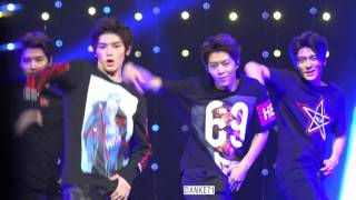 150919 sm rookies show LEE TAEYONG focus Do not cut my video to make GIF plz 请勿截取我的视频制作gif动画.