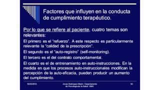 Umh4313 2012-13 Lección 011 Tema 6.2 Cumplimiento Terapeútico (2)