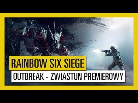 Outbreak to pierwsze w historii gry Rainbow Six Siege wydarzenie współpracy. Potrwa cztery tygodnie, a zacznie się już 6 marca