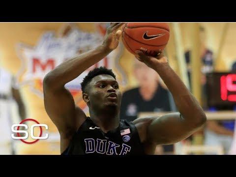 Zion Williamson's biggest weakness is shooting - Mike Schmitz   SportsCenter