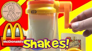 McDonald's Happy Meal Magic 1993 Shake Maker Set - Making Milk Shakes!