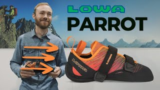 *New* Lowa Parrot VCS climbing shoes by WeighMyRack