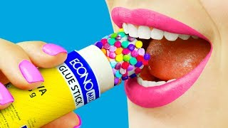 Video 8 Edible School Supplies / Funny Pranks! MP3, 3GP, MP4, WEBM, AVI, FLV Juli 2018