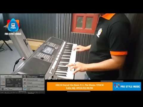 Style R&B Ballad - Độc Thoại | PSM | Yamaha Style