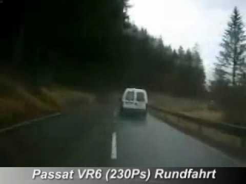 Passat VR6 mit Tuning (Chip + Sportauspuff + Nockenwellen + Kopfbearbeitung)