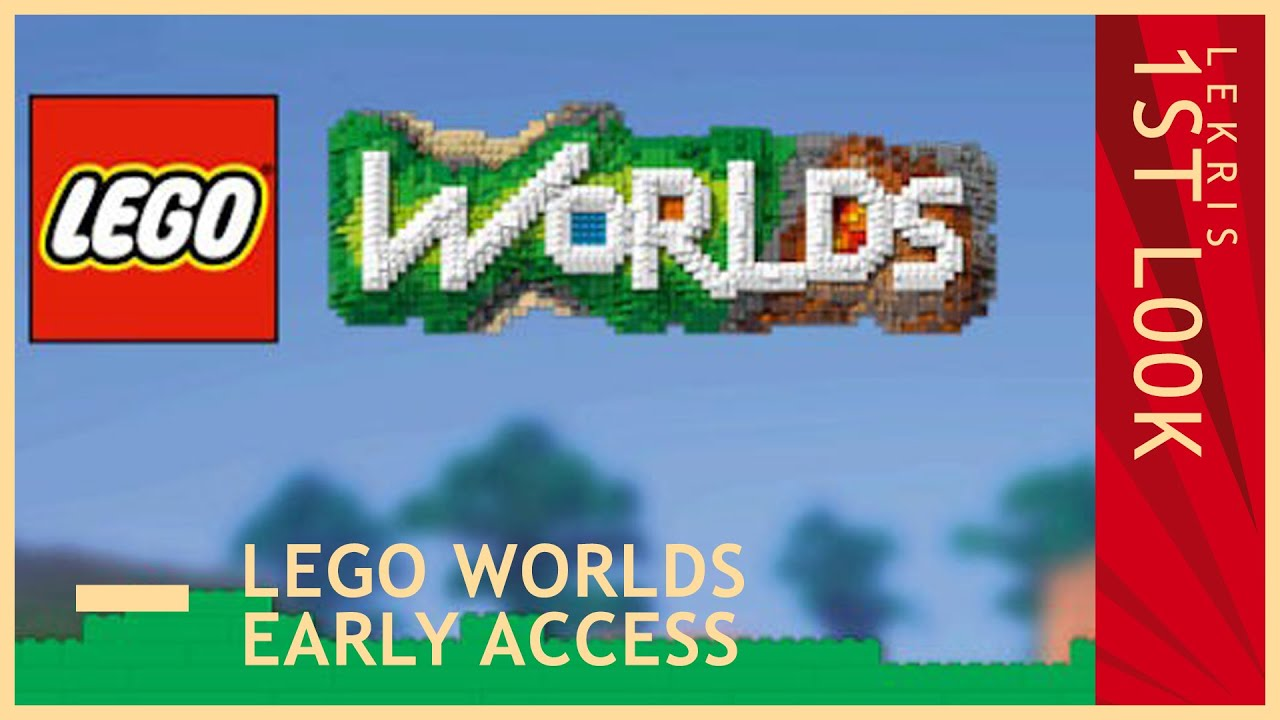 First L00k @ LEGO Worlds