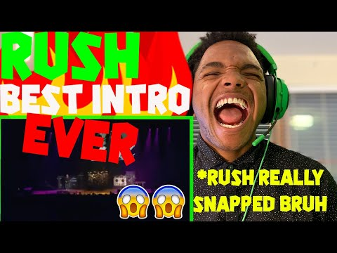 """SURFBOY REACTIONS   """"RUSH"""" - Best intro EVER!!!!!!!!!! (LIVE)   {FIRST TIME REACTION}"""