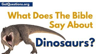 Are there Dinosaurs in the Bible? When it comes to dinosaurs and the Bible, many want to know, what does the Bible say about dinosaurs? In this video, Pastor ...