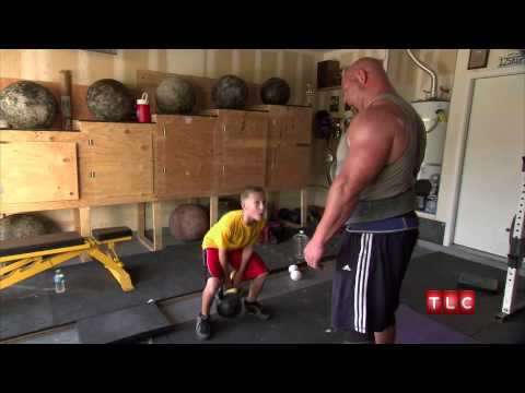 Crazy - The Best family is so obsessed with their own strength that they spend countless hours lifting weights. | For more visit http://tlc.howstuffworks.com/tv/my-c...