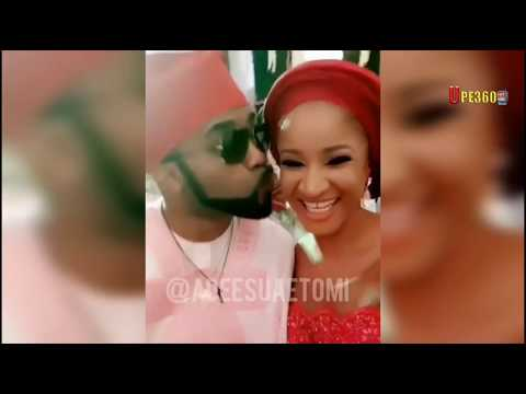 Banky-W And Wife Adesua Live Performance On Stage