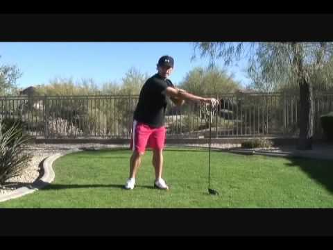 How To Improve Your Golf Backswing – Stretch With Your Driver