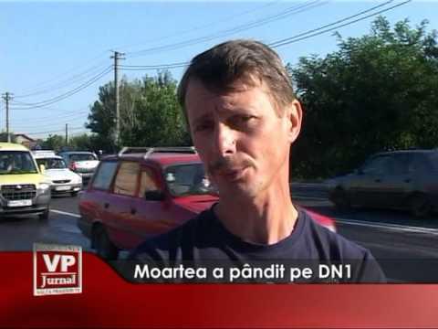 Moartea a pandit pe DN1