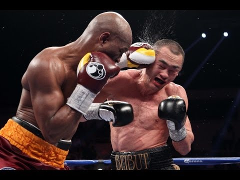 down - Recap of the 11th round between Bernard Hopkins and Beibut Shumenov. For more ... http://theboxingblog.sho.com/2014/04/20/hopkins-shumenov-porter-malignaggi-...