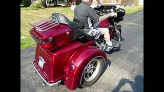 4. 110 inch 2009 Harley Triglide Tri Glide Ultra Trike for sale Motorcycle appraisal $22,900