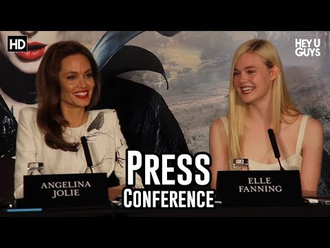 Maleficent Press Conference: Angelina Jolie on her Children Watching her Movies