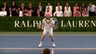 Boris Becker: How to Volley by Ralph Lauren