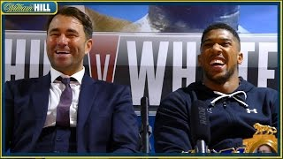 POST FIGHT PRESS CONFERENCE -  Joshua vs Whyte