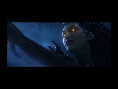 StarCraft 2 - probably the best cinematic cut scene I've ever seen.  Ever. (possible spoilers)