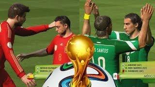 Video 2014 Fifa World Cup - Primera Fecha,Mexico - Colombia - España - Argentina Gameplay Xbox MP3, 3GP, MP4, WEBM, AVI, FLV Desember 2017
