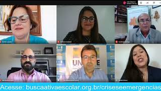 Videoconferência: lançamento do guia Busca Ativa Escolar em Crises e Emergências.