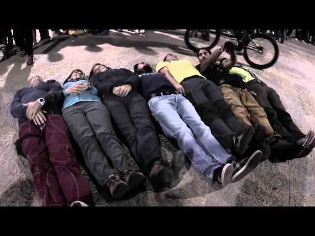 san vito climbing festival 2015 - trailer giornalieri - Tom Oehler trial bike extreme