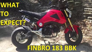 6. Honda Grom Performance Mods #5 - Finbro 183cc BIG BORE KIT + Kitaco Clutch Cover & Oil Cooler!