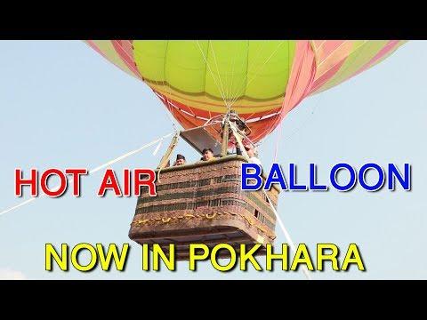 (गण्डकी प्रदेशका मुख्यमन्त्रीलाई तातो हावा भरेको बेलुनले उडाएपछी ! Hot Air Balloon In Pokhara - Duration: 12 minutes.)