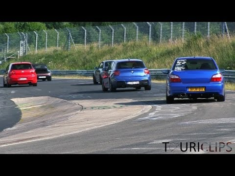 Nurburgring - A video packed with action of the TF session on the 14th of July 2013. We have more footage, so if you're not in the video send us a message! www.touriclips....
