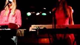 Au Revoir Simone Sad Song Live in Bedford England
