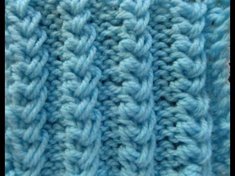 particolare motivo a maglia