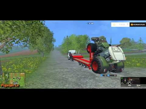 Low Loader Galtrailer SC 1.0 Clean