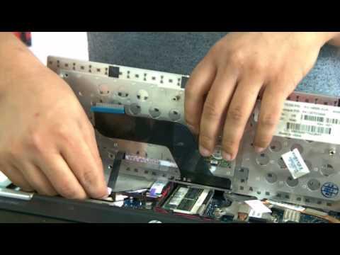 Hướng dẫn tháo lắp và vệ sinh laptop hp elitebook 8440p phần 2